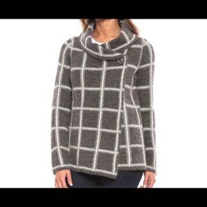 🆕Ellen Tracy Knit sweater-turned-jacket